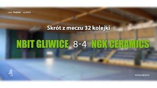 [GLF] Nbit Gliwice vs NGK Ceramics (32 kolejka) - skrót