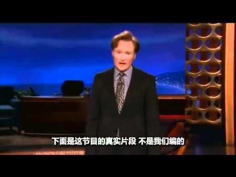 強國某talk show抄襲邪惡美帝節目片頭,美帝節目主持竟然如此回敬強國