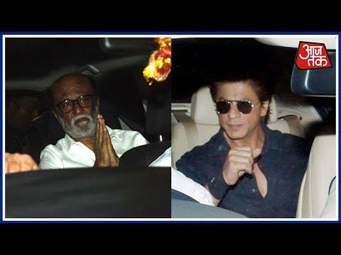 Shatak Aajtak: Rajnikanth And Shahrukh Khan Visit Kapoor Residence To Offer Their Condolences