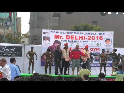 Arun kumar body building comptition 2016 on 6th ma