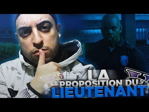 GTA V RP#3 - LA PROPOSITION DU LIEUTENANT DE POLICE (видео)