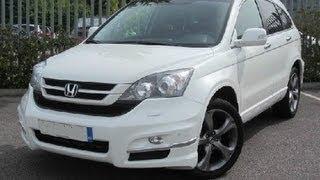 2011 HONDA 2.2 CR-V EX I-DTEC AUTO ESTATE TEST DRIVE - THE UK CAR REVIEWS