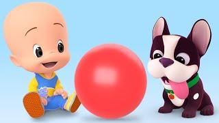Video La Pelota - Aprende los colores con episodios y canciones infantiles de Cleo y Cuquín MP3, 3GP, MP4, WEBM, AVI, FLV September 2019