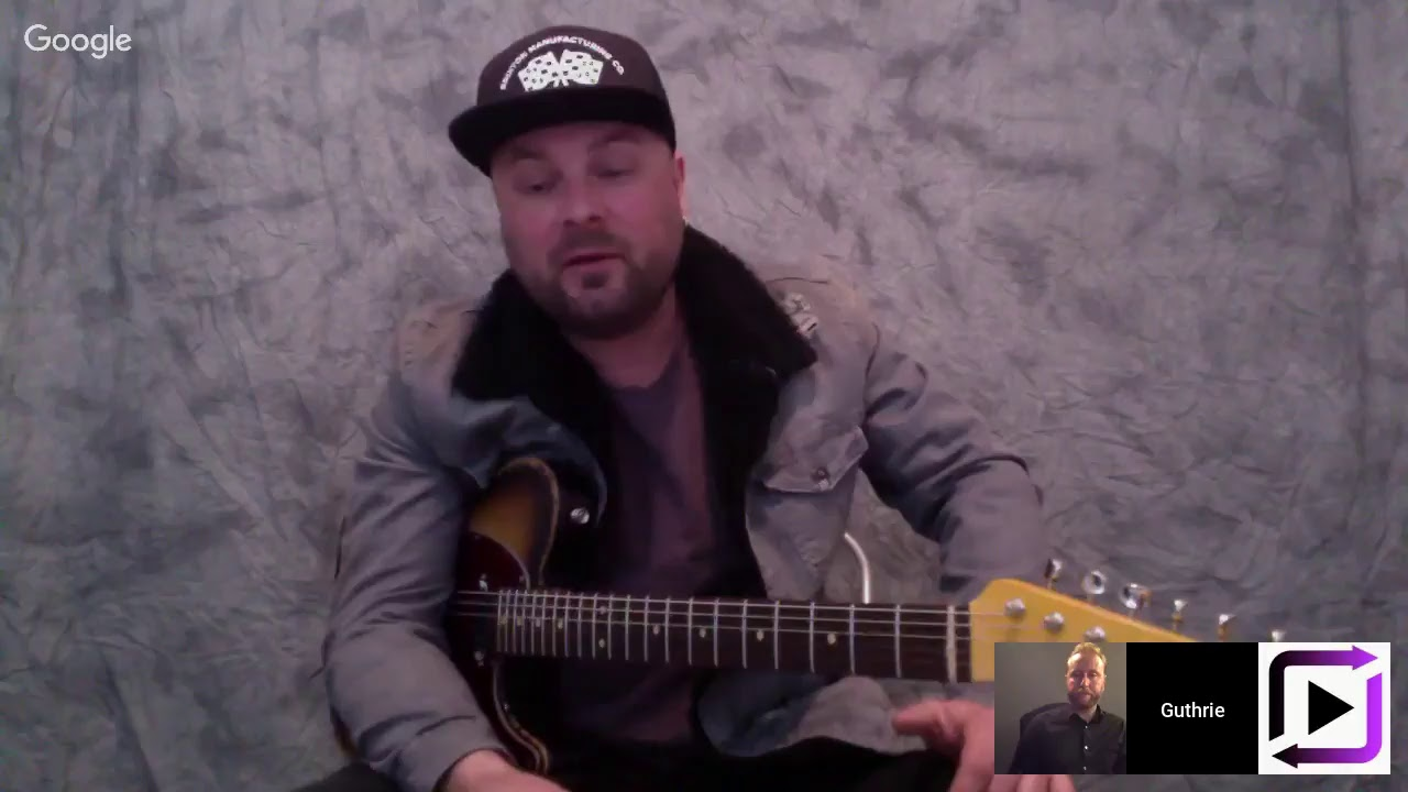 ArtistWorks Live: Talking Electric Country Guitar with Guthrie Trapp
