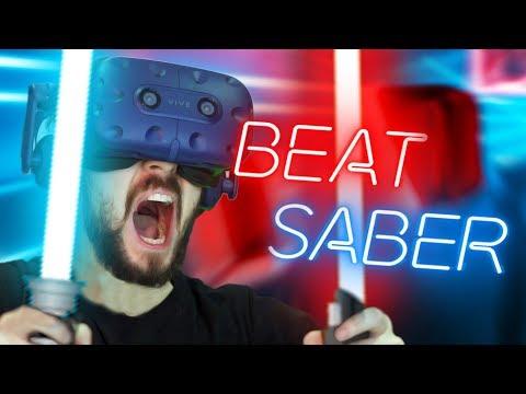 AM I A KPOP YET!?   Beat Saber #2 (HTC Vive Virtual Reality)