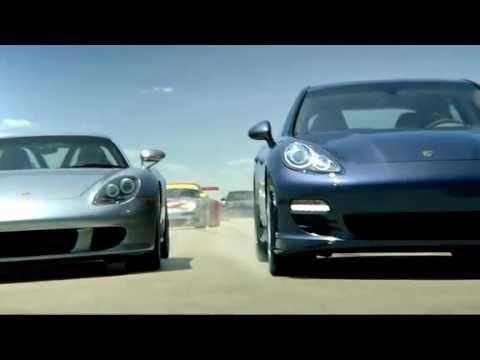 Porsche Panamera Реклама Porsche: Panamera Family Tree