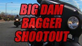 4. 2018 Big Dam Bagger Shootout: Indian Chieftain Dark Horse vs. Harley-Davidson Road Glide vs