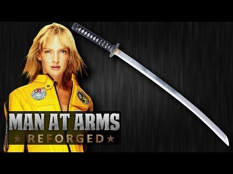 Hattori Hanz  Katana Kill Bill  MAN AT ARMS