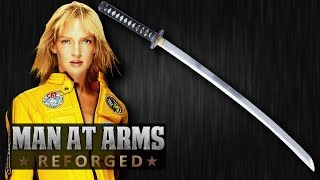 Video Hattori Hanzō Katana (Kill Bill) - MAN AT ARMS: REFORGED MP3, 3GP, MP4, WEBM, AVI, FLV Mei 2018