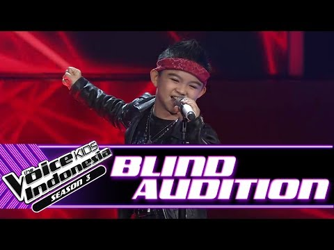 Download Video Moses - Welcome To The Jungle  | Blind Auditions | The Voice Kids Indonesia Season 3 GTV 2018
