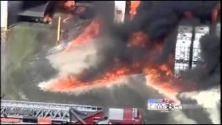 Ennis (TX) United States  city photo : Ennis, TX, Ladder Truck Burns