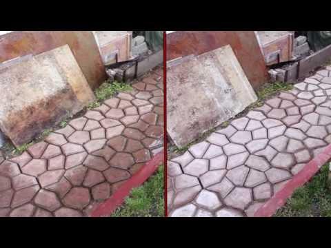 Садовая дорожка видео часть 5