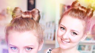прическа бантик из волос инструкция фото