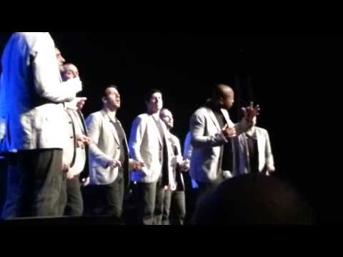 Straight No Chaser Stand by Me off mic Harrah's 8/29---Thank You Stacey