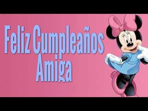 Tarjetas de cumpleaños para una amiga - Feliz Cumpleaños Amiga – Feliz Cumpleaños Querida amiga  Frases De Cumpleaños