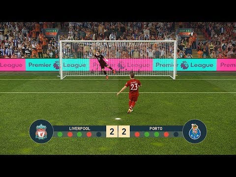 LIVERPOOL Vs PORTO | UEFA Champions League - UCL | Penalty Shootout | PES19