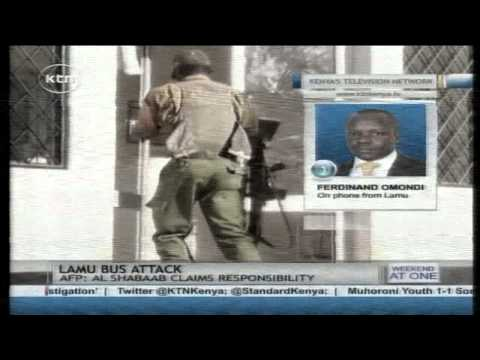Al Shabaab claims responsibility as the number of victims in the Lamu Attack rises