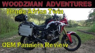 9. Honda Africa Twin OEM Panniers 1 Year Review CRF1000L