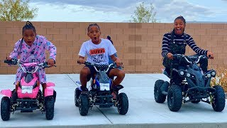 I Surprised My Kids With Brand New ATV's & They Loved Them!