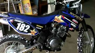 8. Yamaha TTR 125 fmf Powercore 4 Exhaust