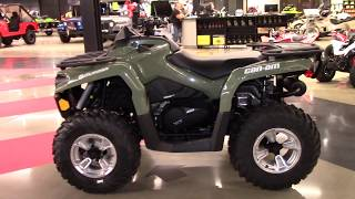 10. 2018 Can-Am Outlander DPS 450 - New ATV For Sale - Elyria, OH