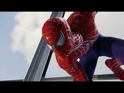 Spider-Man vs Wilson Fisk (Raimi Suit Walkthrough) - Marvel's Spider-Man