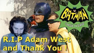 RIP Adam West You Will be Missed! Thank You For Everything! I cant believe we lost another great person in the world. All the things you've done will not be ...