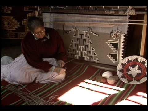 Still image from Navajo: Rug Weaving Traditions