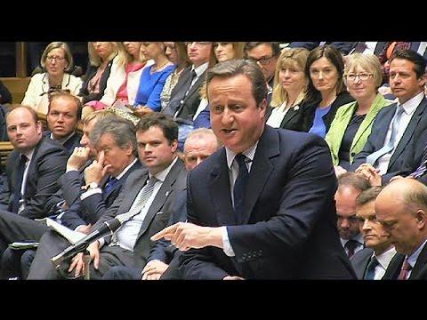 Βρετανία: Ο Ντέιβιντ Κάμερον ενημέρωσε τους βουλευτές για την Σύνοδο Κορυφής