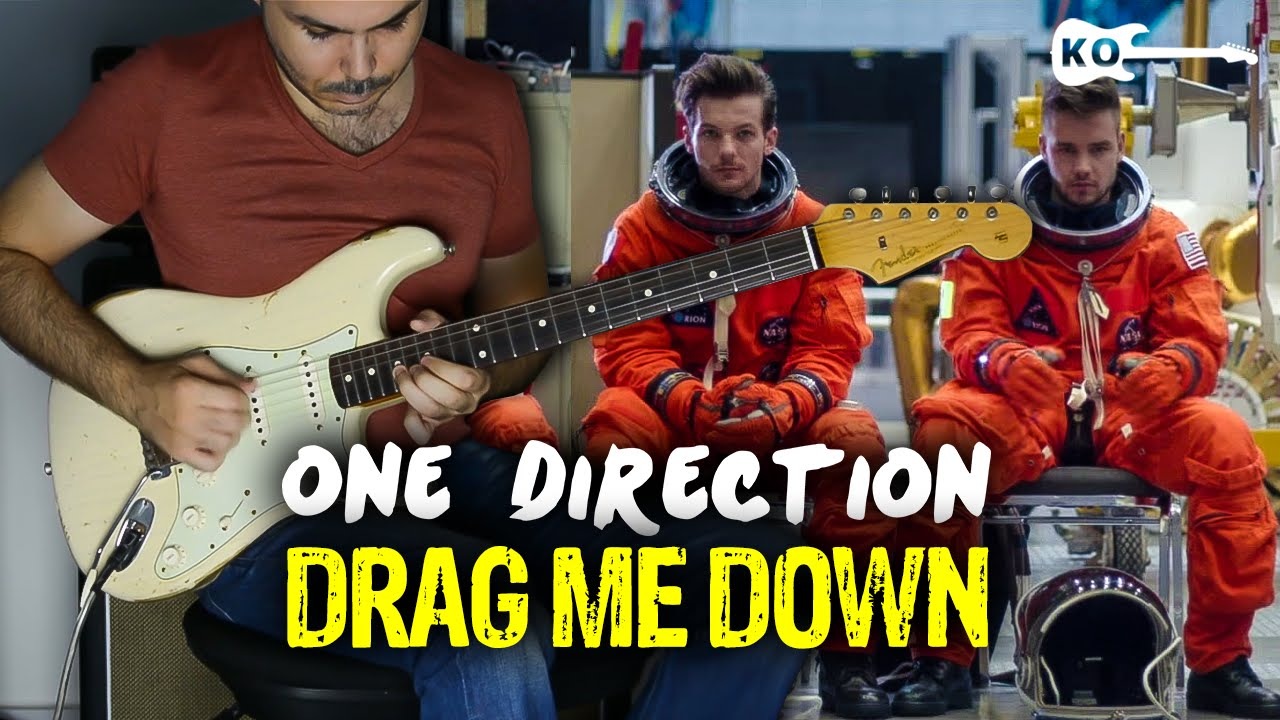 One Direction – Drag Me Down – Electric Guitar Cover by Kfir Ochaion