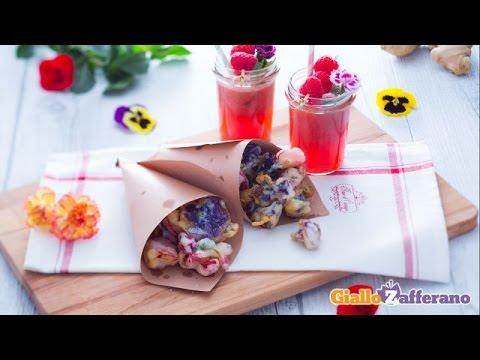 cerchi un'idea originale per un aperitivo? prova con fiori e frutta!