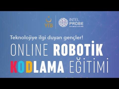 Online Robotik Kodlama Eğitimi | 1. Hafta