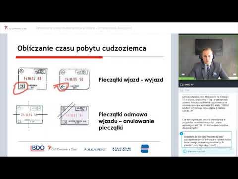 Zatrudnianie cudzoziemców w Polsce 2020/2021 - Michał Nocuń