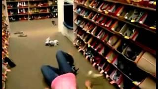 Essayage De Chaussure à Haut Talons