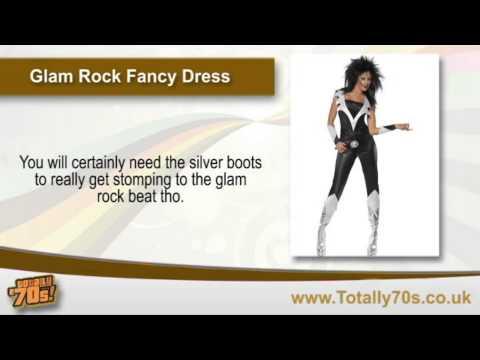 Glam Rock Fancy Dress