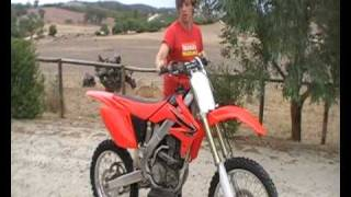 8. Honda CRF250R 2008 Motocross Bike For Sale!!