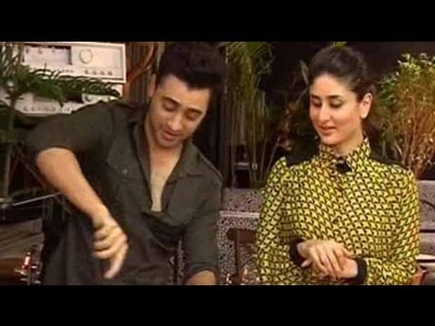KAREENA - Gori Tere Pyar Mein stars Imran Khan and Kareena Kapoor roll up their sleeves and switch on the stove. Imran's spaghetti bolognaise is pronounced