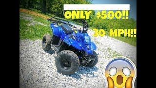 5. CHEAP Chinese ATV Review!! 110CC 30MPH and Only $500!!