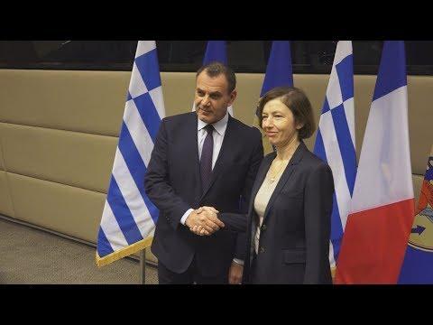 """Video - Γαλλική """"ασπίδα"""" στη Μεσόγειο: """"Είμαστε εδώ για να αποτρέψουμε τις τουρκικές γεωτρήσεις"""""""