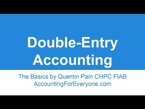 Double-entry Accounting and Bookkeeping principles explained in simple terms.