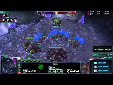 RO8 aLive (T) vs Leenock (Z) - Game 2