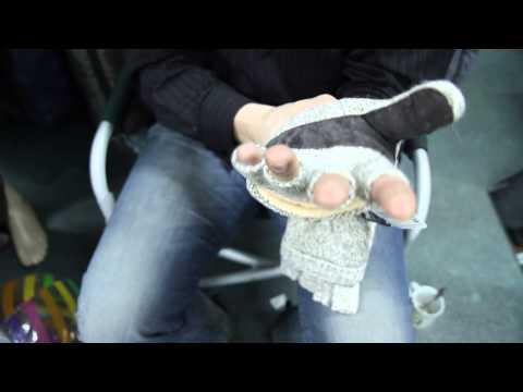 Перчатки-варежки вязаные «Sentry». Видеообзор.