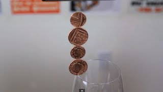 Amazing Balancing Coins - Science Experiment