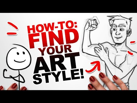 5 STEPS TO IMPROVE YOUR ART!   How to Develop Your Art Style   Beginner Art Tips