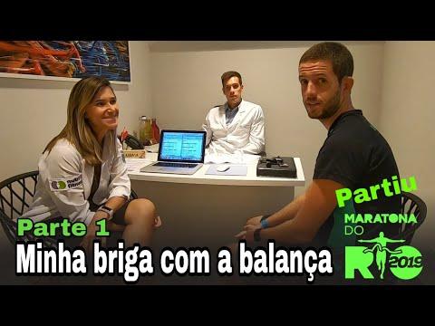 Peso ideal - MINHA BRIGA COM A BALANÇA - PARTE 1 - Partiu Maratona do Rio