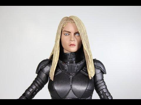 Valerian - Série 1 - Figurine Laureline - Neca