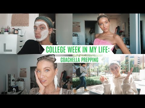 COLLEGE WEEK IN MY LIFE: PREPCHELLA + CLASSES!
