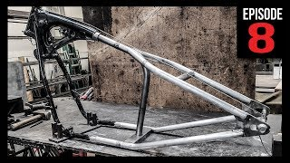 10. HardTail Frame Kit Install - Bobber Build - Episode 8
