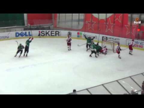 Обзор матча чемпионата Казахстана по хоккею 'Бейбарыс' - 'Арыстан' (2:3 Б)