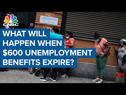 Here's the potential impact of letting the $600 unemployment benefit expire